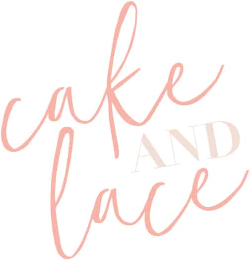 Cake and Lace | a wedding blog
