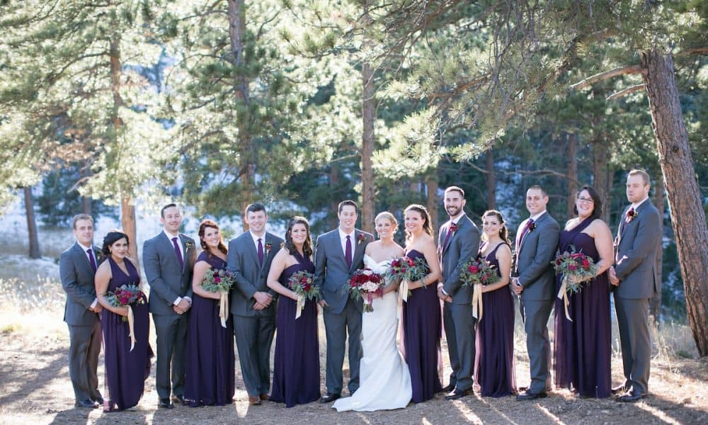 Nature-Inspired Colorado Winter Wedding: Rachael & Josh