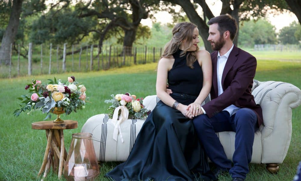 Glam Engagement at The V8 Ranch