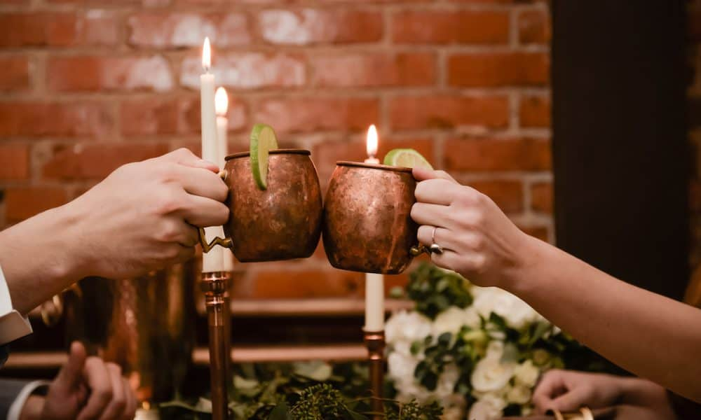 Local Wisconsin Copper and Greenery Styled Shoot