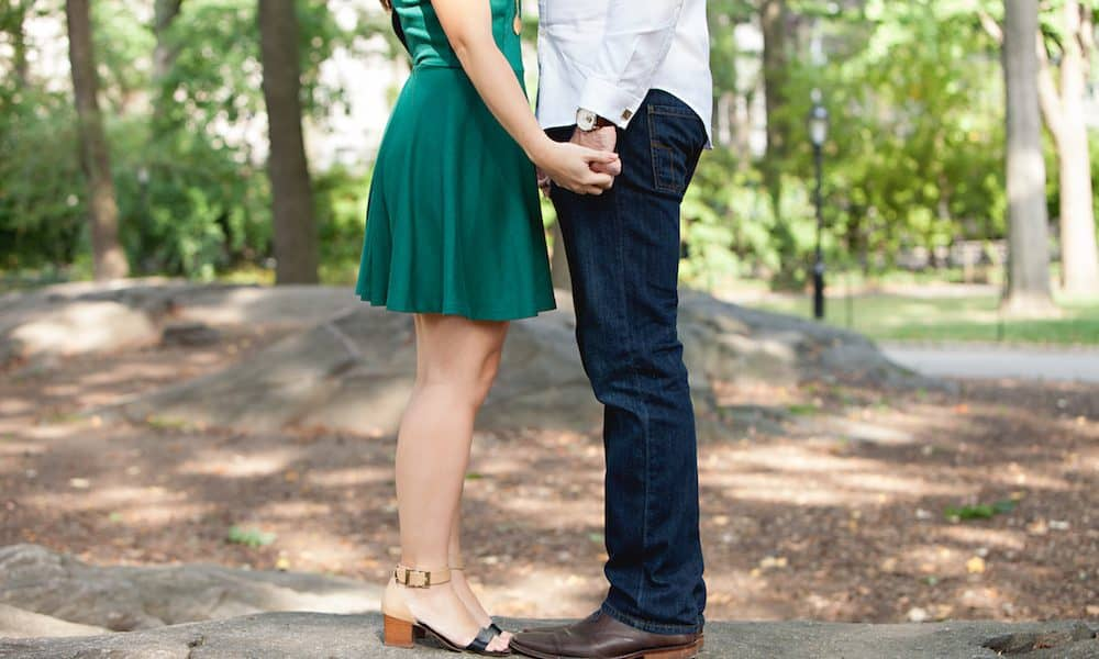 Picnic Engagement in the Park: Tiffany & Justin