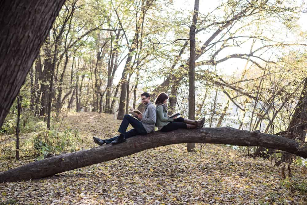 St Paul Engagement Session