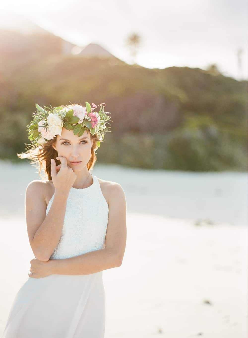 ethereal destination wedding inspiration in cape town | cake and