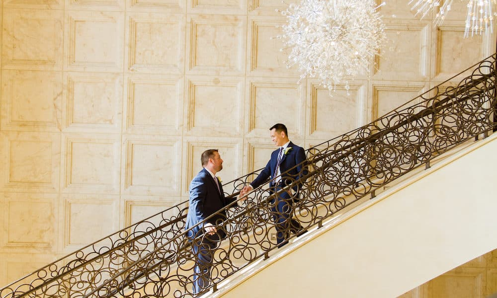 Classy Lavish Wedding at The Four Seasons: Matt & Andrew