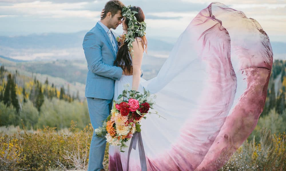Picturesque Park City Bridal Shoot