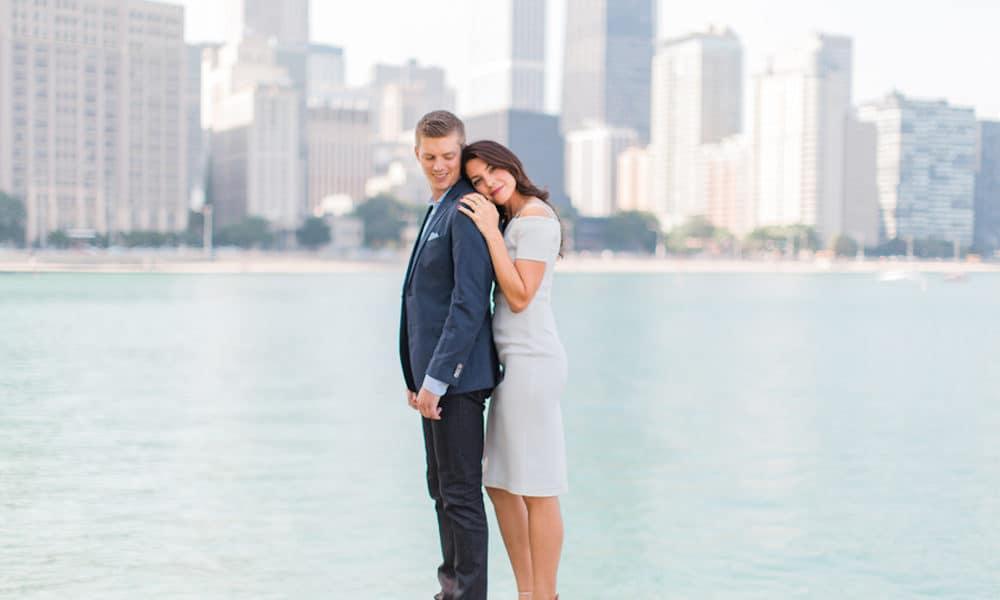 Stylish Skyline Engagement: Sara & Tim
