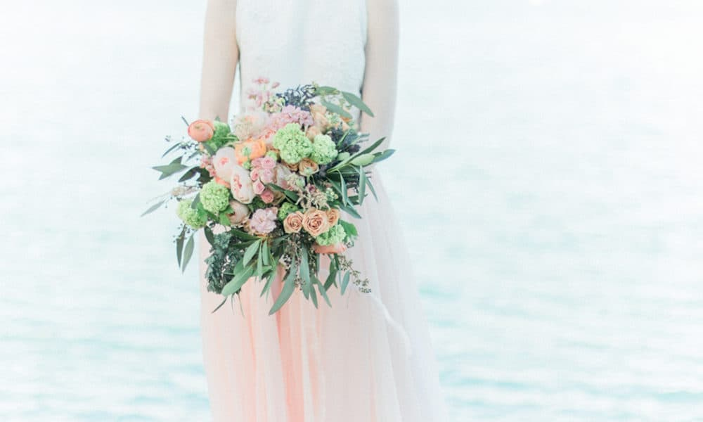 Classic Ethereal Seaside Styled Shoot