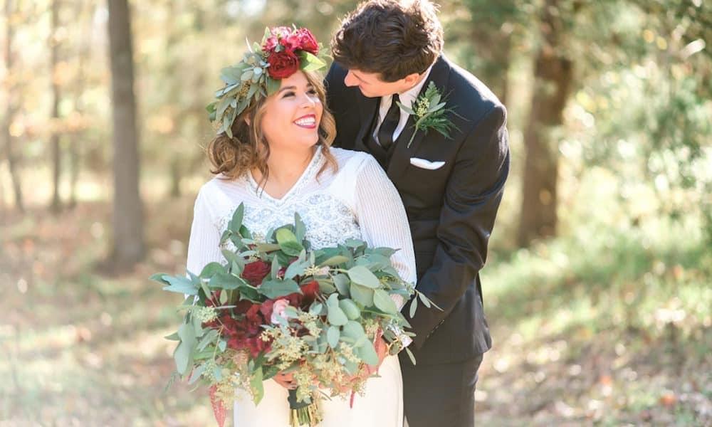 Rustic December Wedding in Tuscaloosa: Kate & Steven