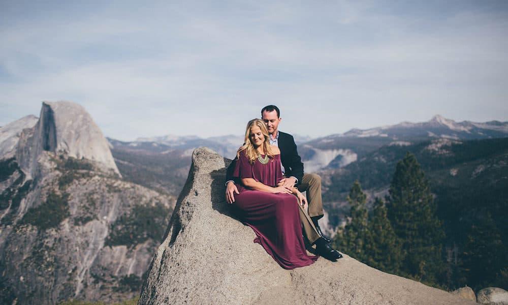 Scenic Engagement in Yosemite: Kristen & Jon