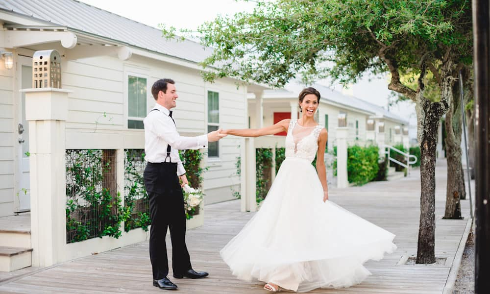 Beautiful Seaside Wedding in Florida: Kiley & Jeff