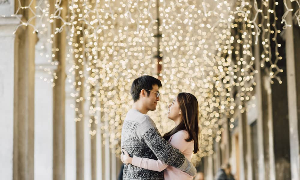 Surprise Proposal at Venice's Most Luxurious Cafe: Andrew & Xinzhu