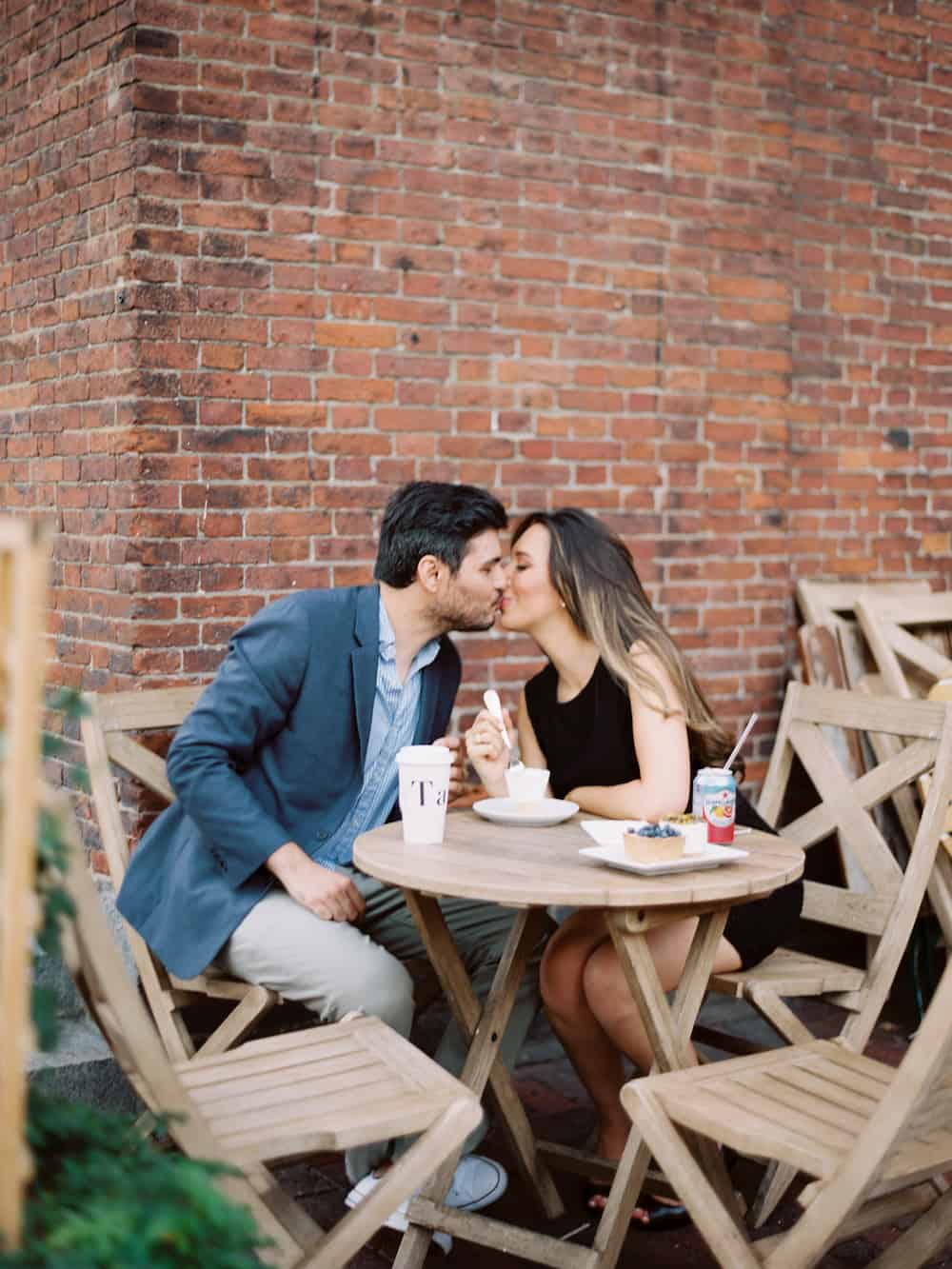 Chic and sophisticated boston engagement victoria ant for Acote salon boston