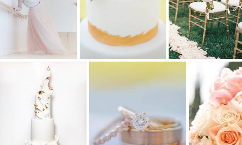 Color Palette: Feminine Gold and Orange