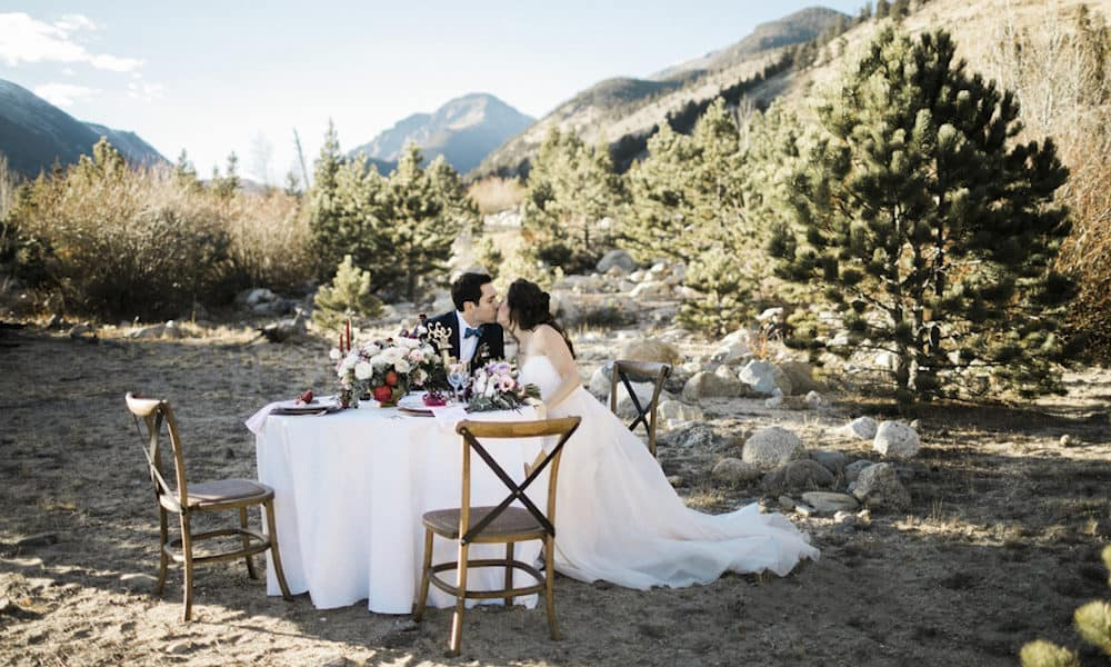 Celebrate Valentine's Day with This Winter Styled Shoot