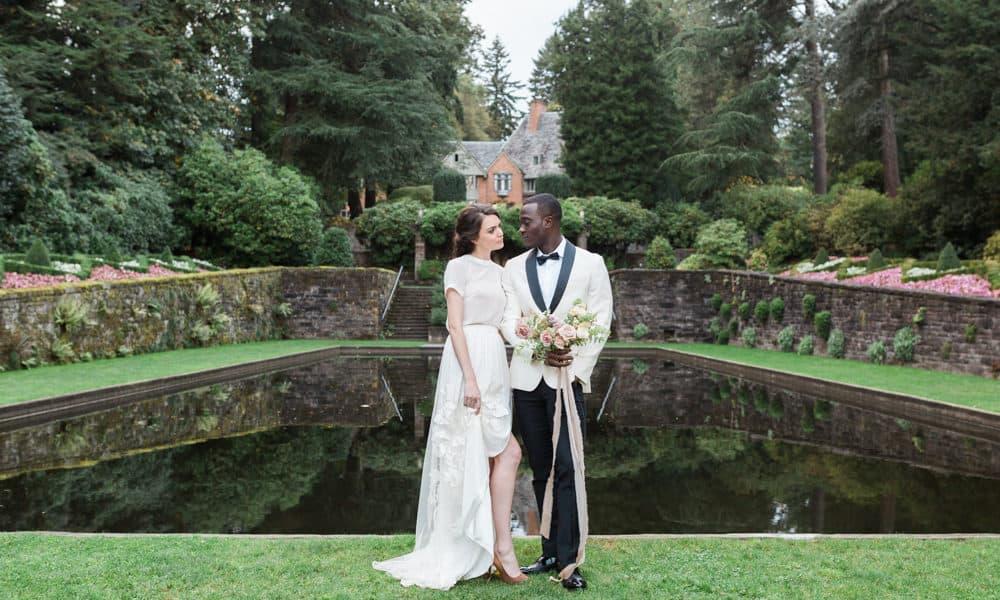 Ethereal Romantic Outdoor Garden Wedding Inspiration