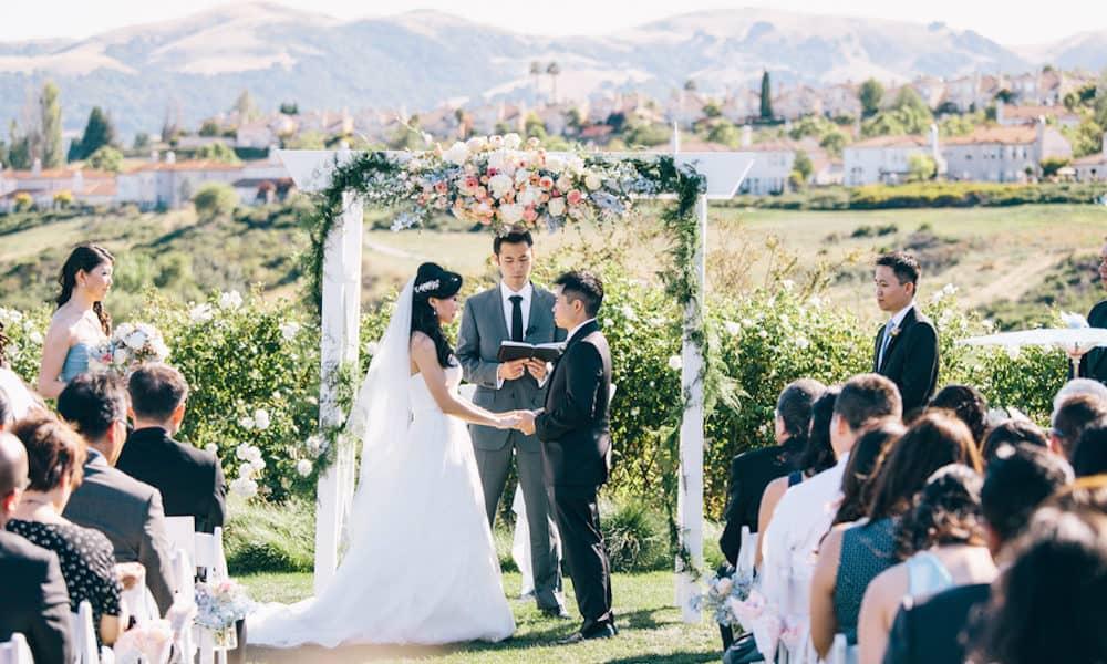 Romantic and Scenic California Summer Wedding: Jasmine & Brandon