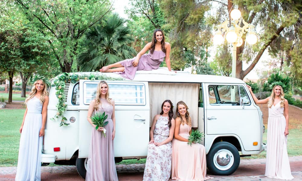 We're in Love with These Mismatched Bridesmaid Dresses