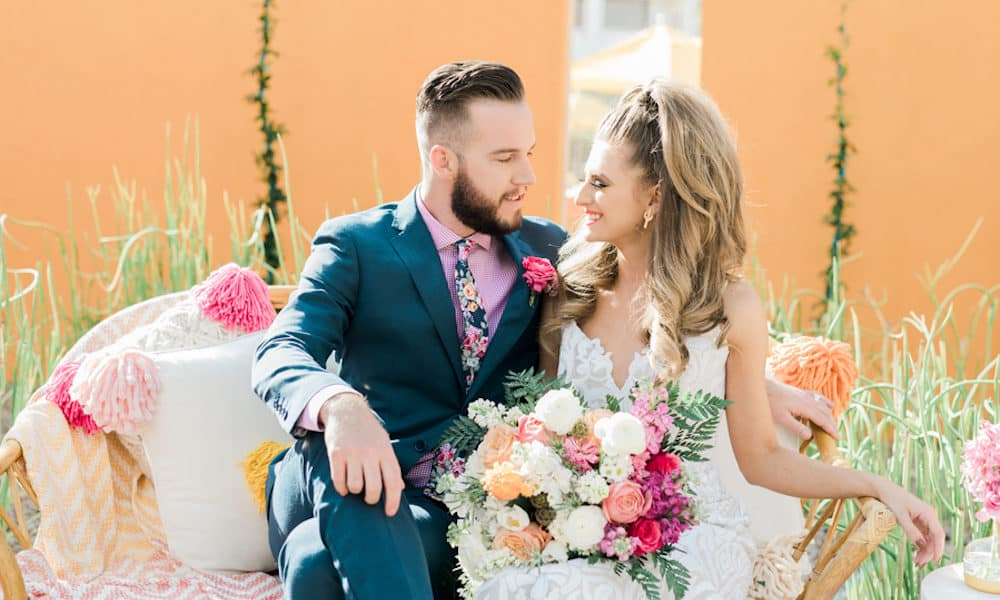 Colorful Fiesta Wedding at The Saguaro