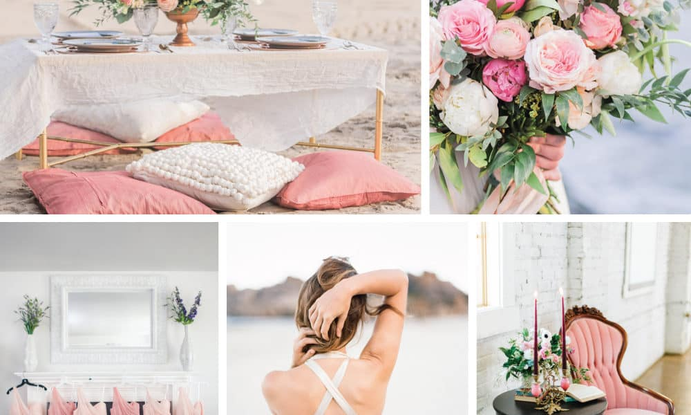 Color Palette: Ombre Pinks