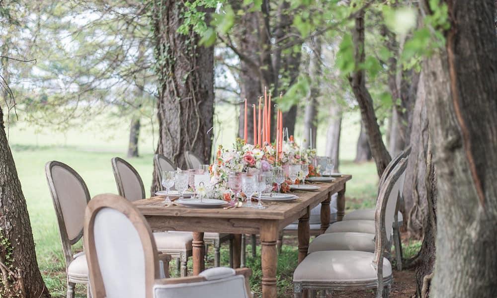 Romantic Feminine Spring Garden Wedding Inspiration