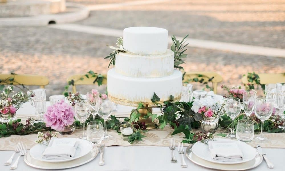 Feminine Garden Wedding Inspiration in Italy