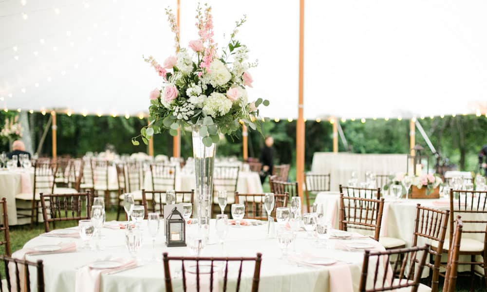 Elegant Meets Rustic Backyard Wedding: Stephanie & Rick