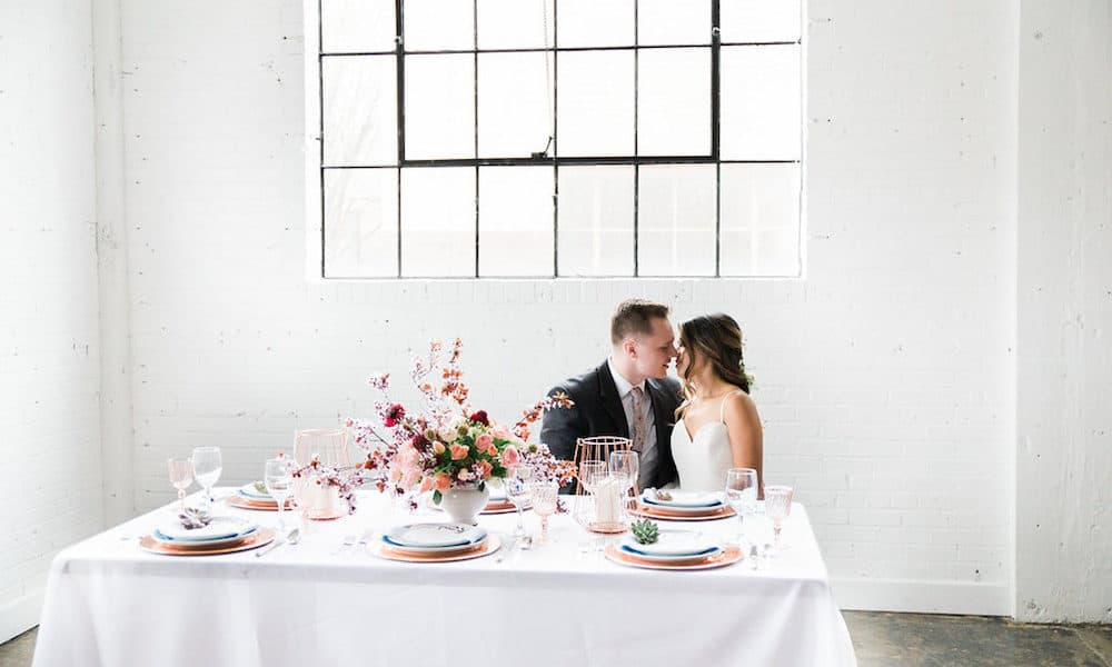 Bright and Airy Spring Wedding Inspiration with Gorgeous Florals