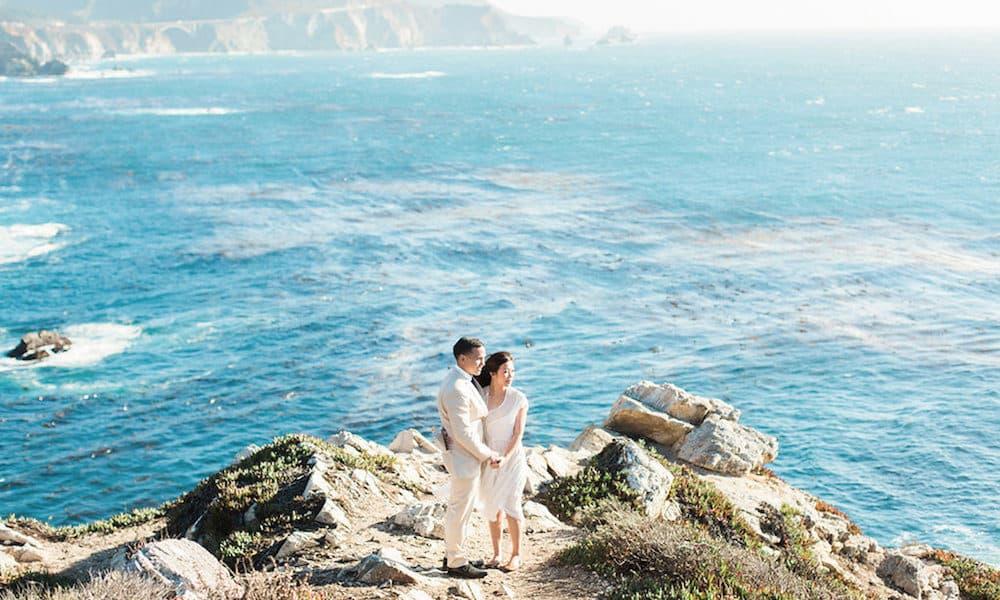 Ethereal Engagement Session in Big Sur: Trish & Sebastien