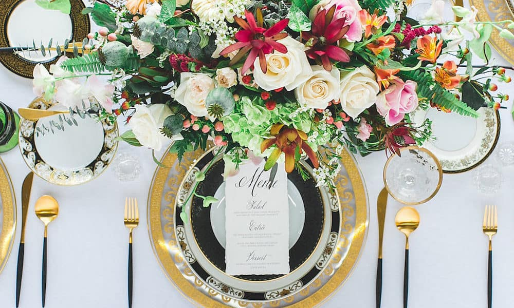A Mix of Classic and Modern Styled Shoot in Los Angeles
