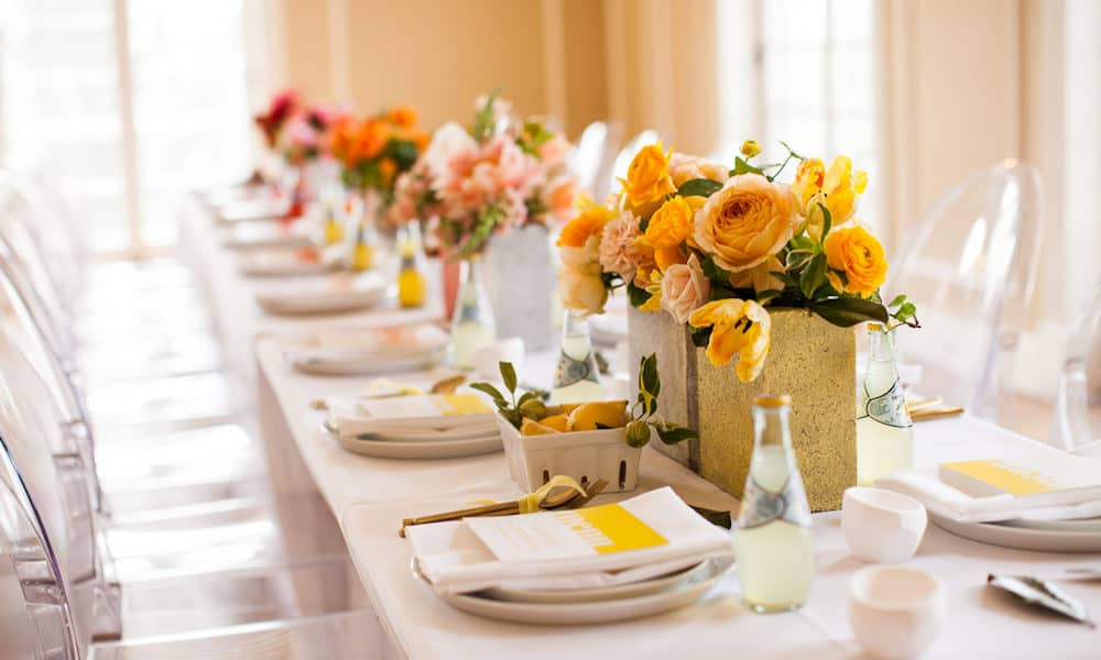 Colorful Ombre Fruit-Inspired Summer Wedding