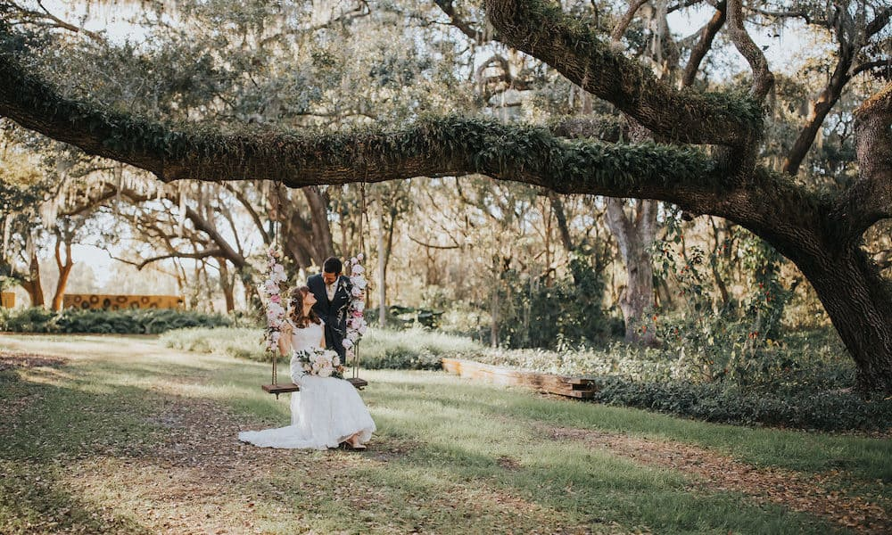 Romantic Wedding Overflowing with Lush Feminine Florals: Stacey & Travis