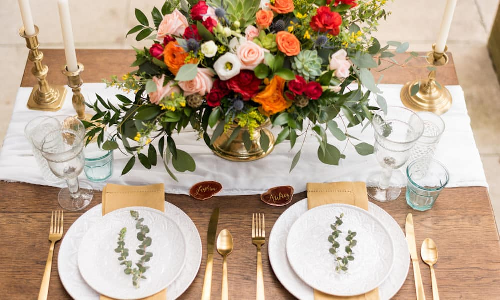 Colorful Southwestern Wedding Inspiration at The Club at Corazon
