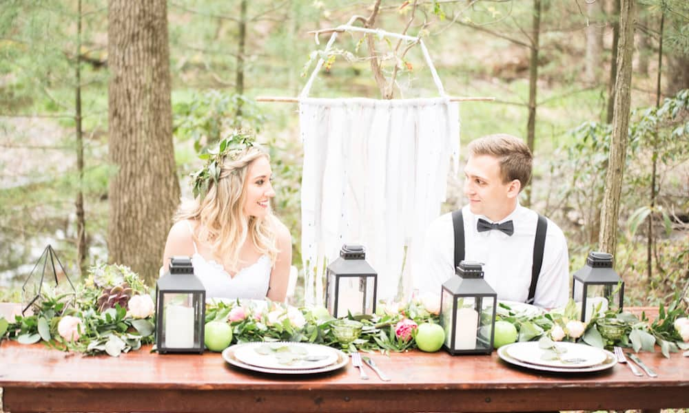 Whimsical Bohemian Wedding Inspiration in the Pocono Mountains