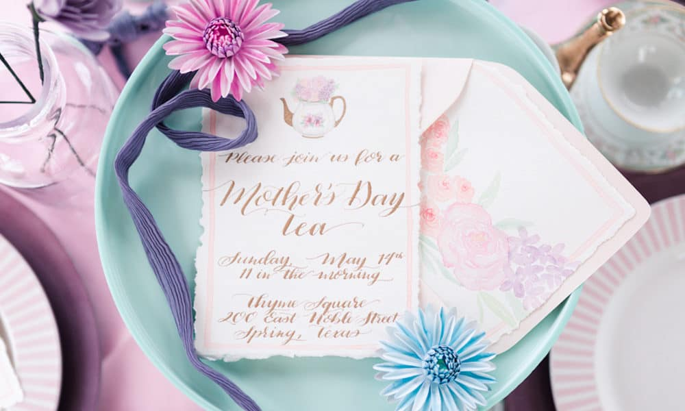Mother's Day High Tea with Bright Pastels
