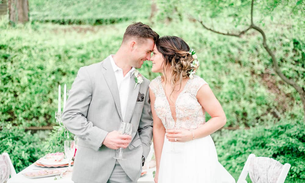 Ethereal and Feminine Garden-Inspired Styled Shoot in Ohio