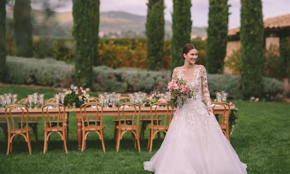 Luxurious Rustic Wedding Inspiration in Athens, Greece