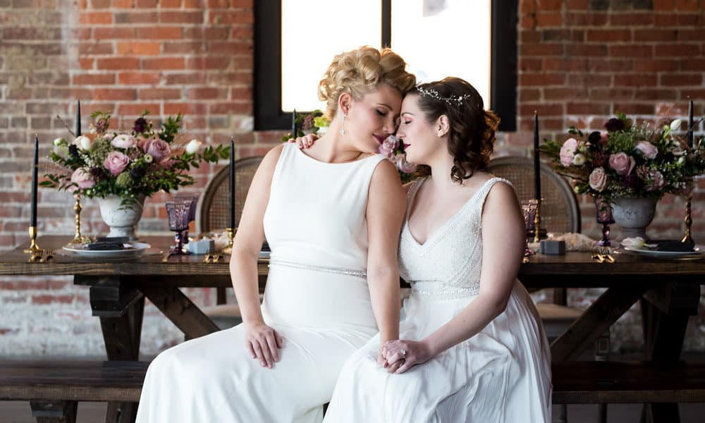 Romantic Industrial Inspired Styled Shoot at High Line Car House