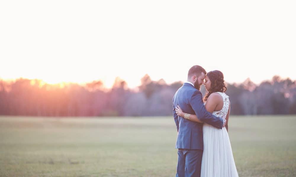 Modern Vintage and Romance Wedding Inspiration in North Carolina