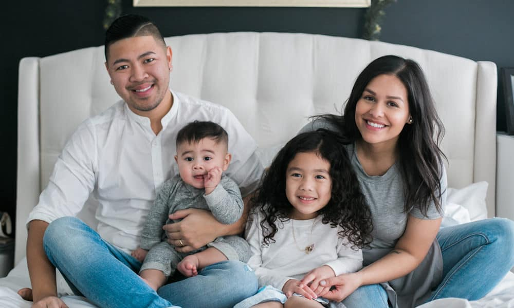 Casual and Playful Family Shoot Full of Love