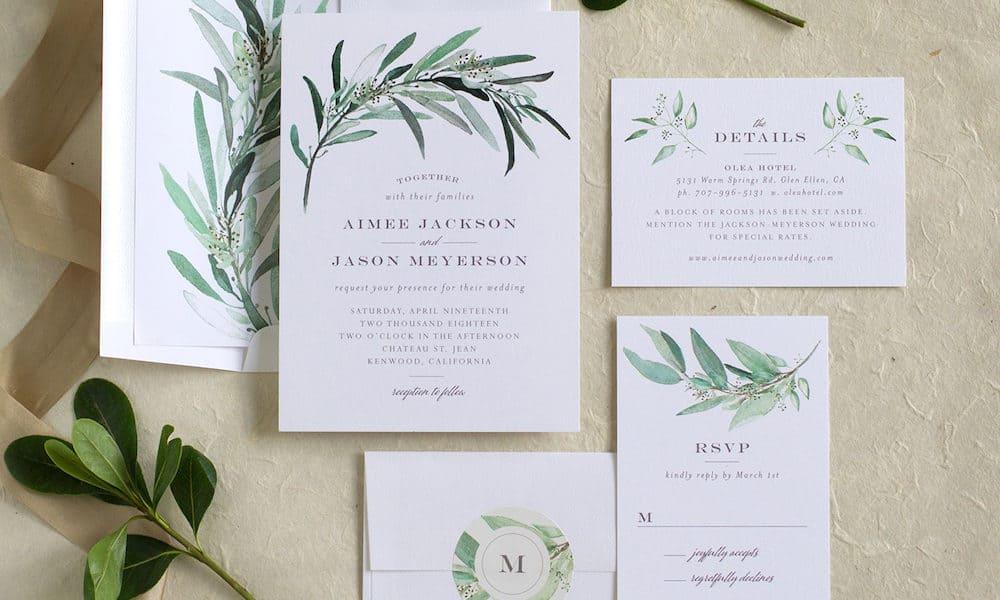 A Peek at Elli's Newest Wedding Invitation Suites