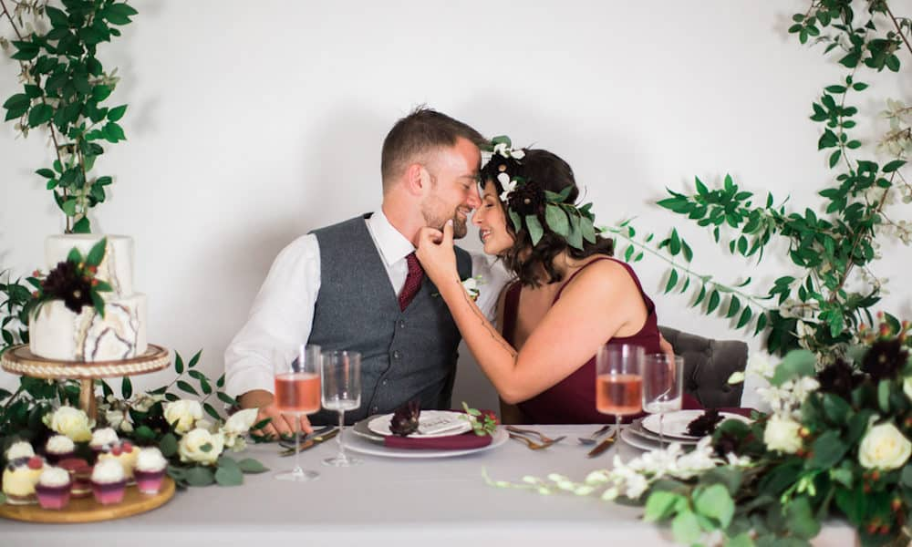 Dreamy Vow Renewal Overflowing with Greenery: Melody & Tony