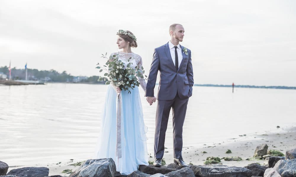 Nature-Inspired Elopement on the Coast of Virginia