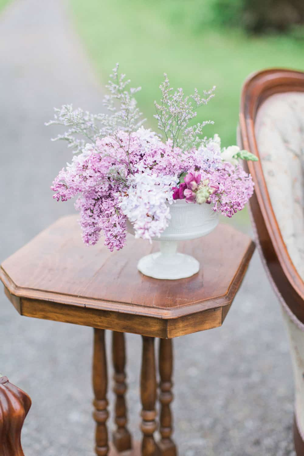Charming Outdoor Styled Shoot Full Of Lavender And