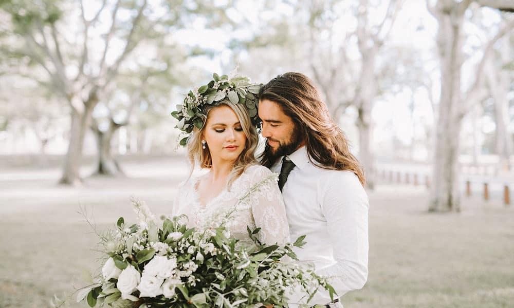 Modern Boho Wedding Inspiration in Brisbane
