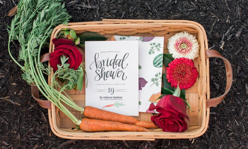 Farm to Table Inspired Backyard Bridal Shower