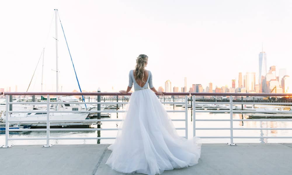 Romantic and Moody Nautical-Inspired Styled Shoot