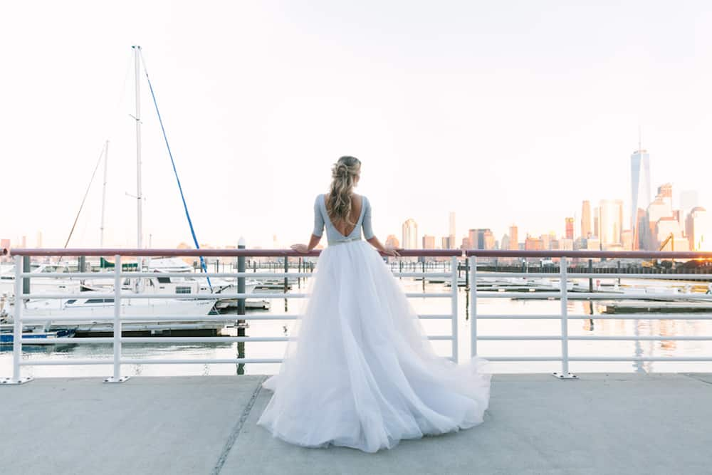 Romantic And Moody Nautical Inspired Styled Shoot