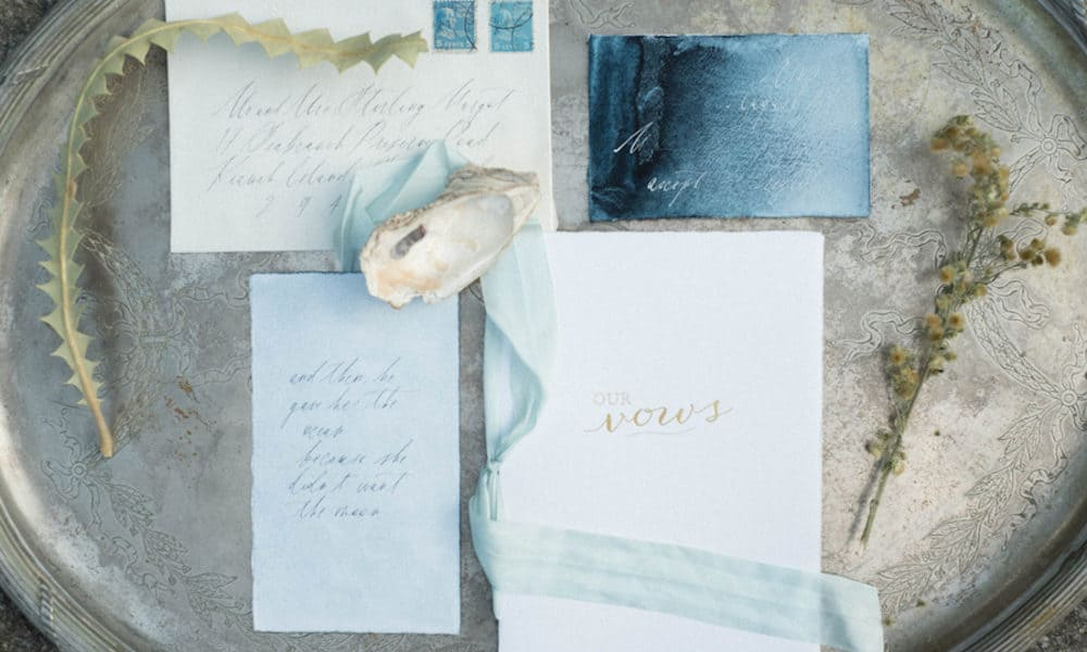 Soft Romantic Coastal Wedding Inspiration
