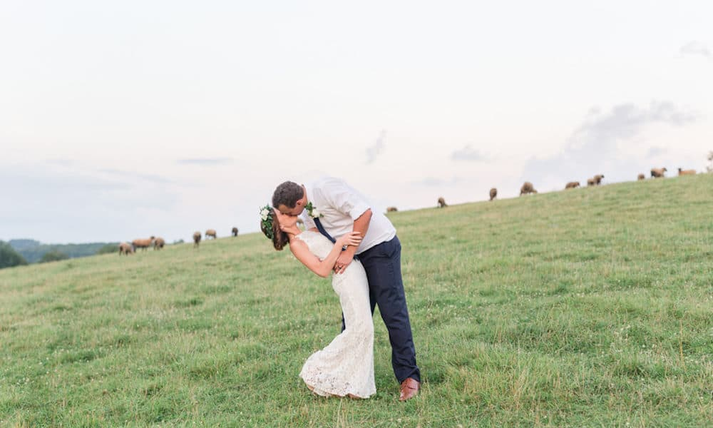Boho Wedding in Ohio That's Full of Greenery: Madison & Storm