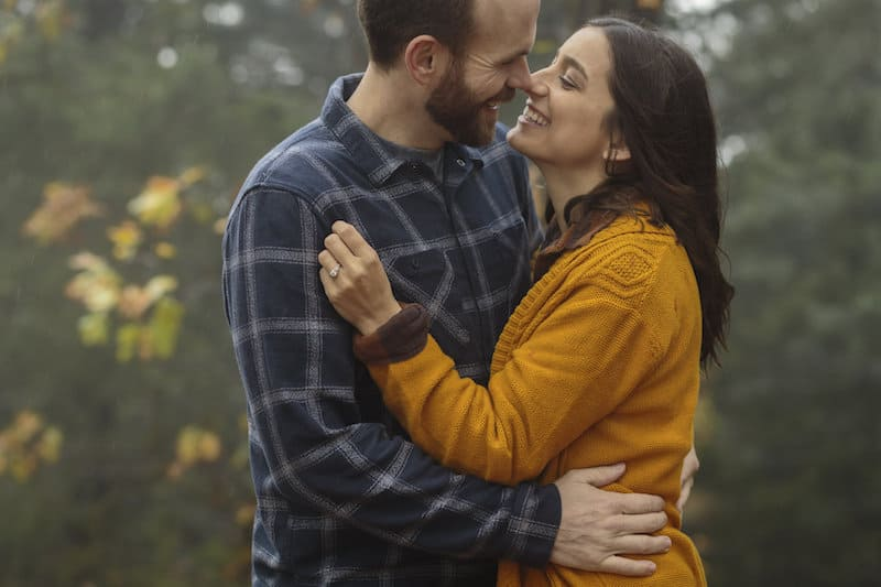 Love in the Storm California Engagement Shoot